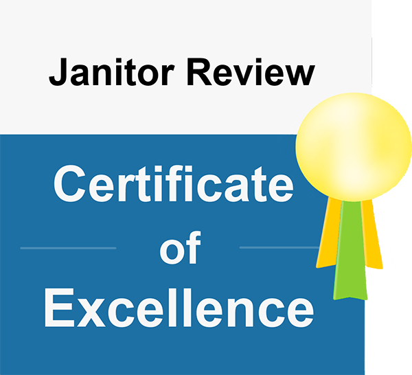 Janitor Review Certificate